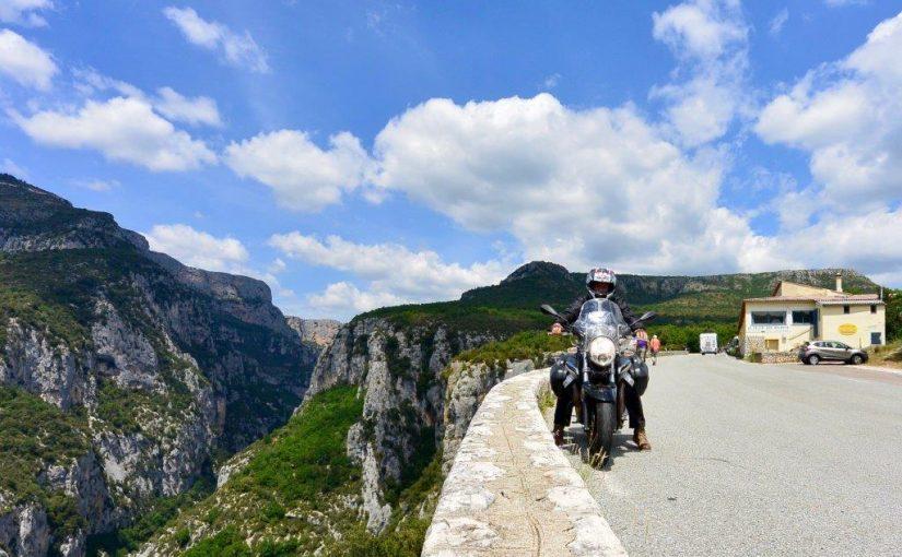 Les gorges du Verdon à moto -
