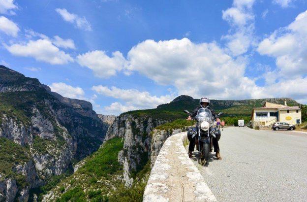 Les gorges du Verdon à moto –