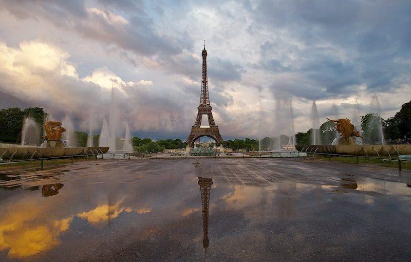 Paris est encore plus belle sous la pluie
