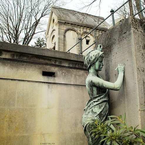 Cimetière du Père Lachaise - Paris, France