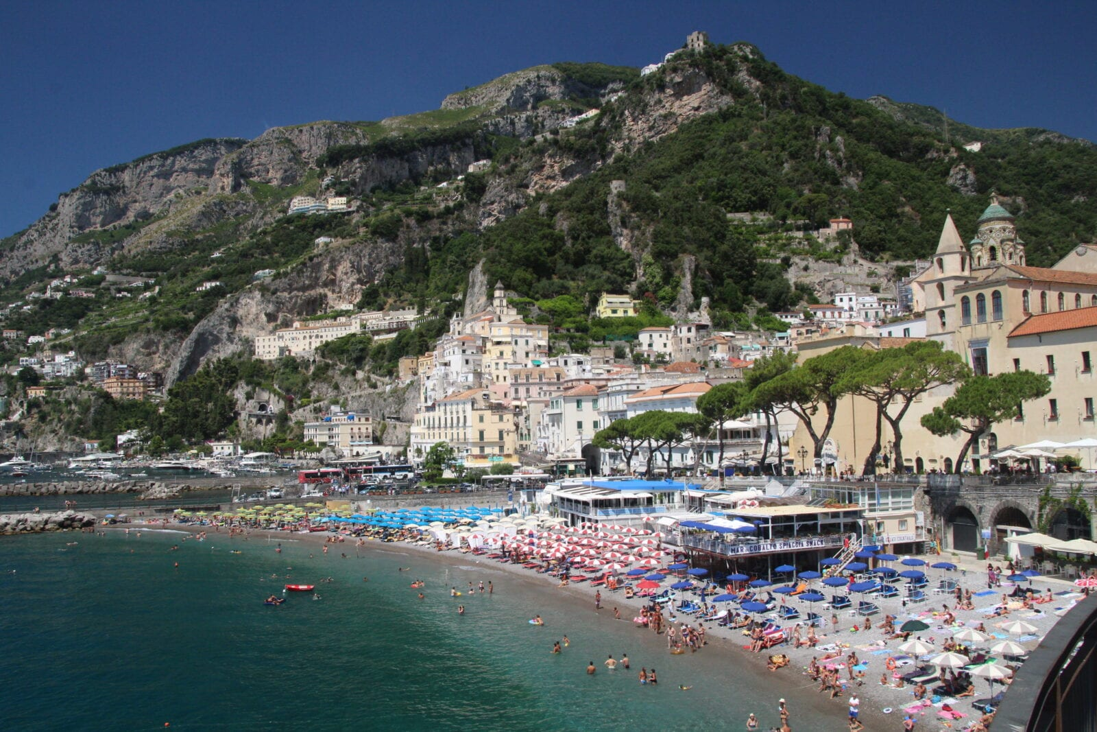 Vacances sur la côte amalfitaine et Pompéi