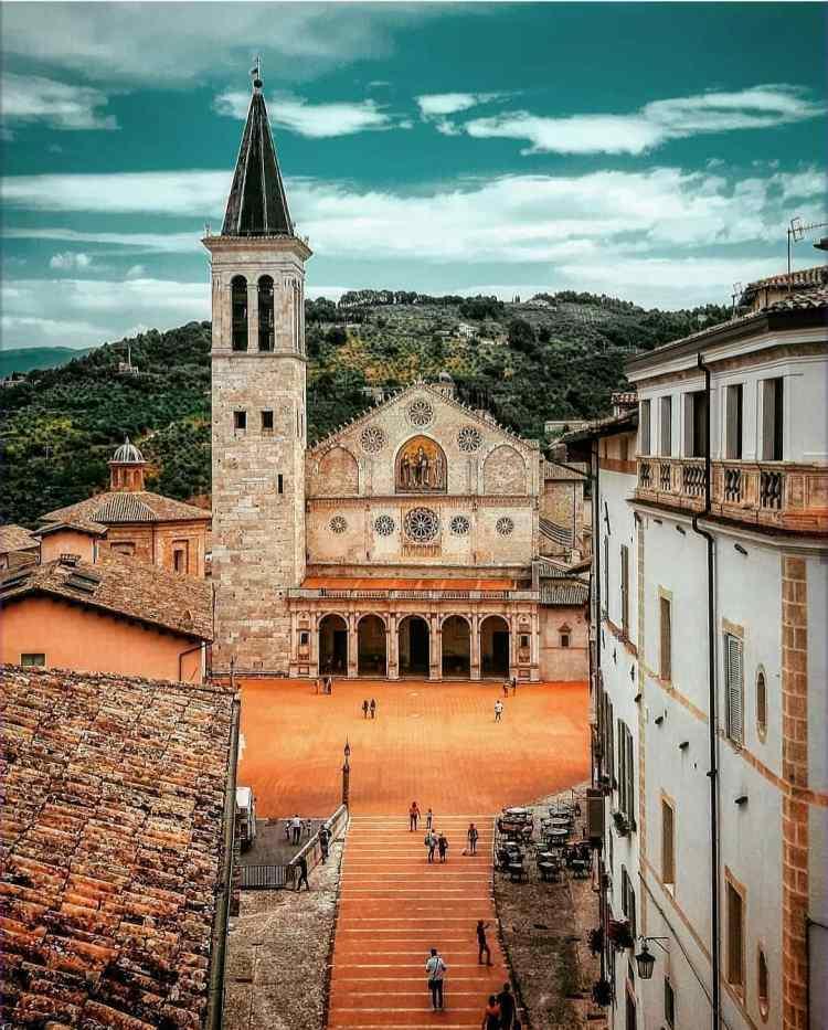 cathédrale spoleto