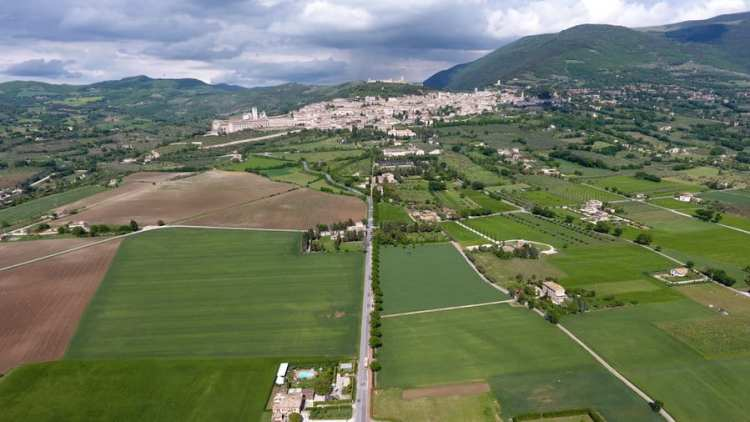 assisi du drone