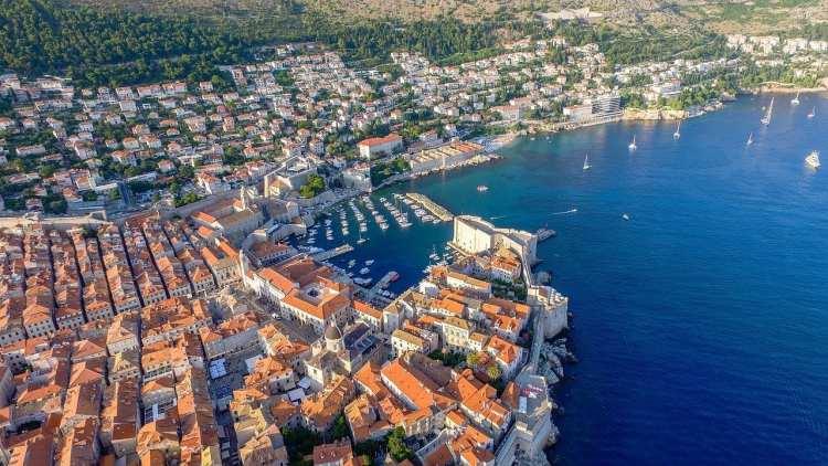 Dubrovnik d'en haut