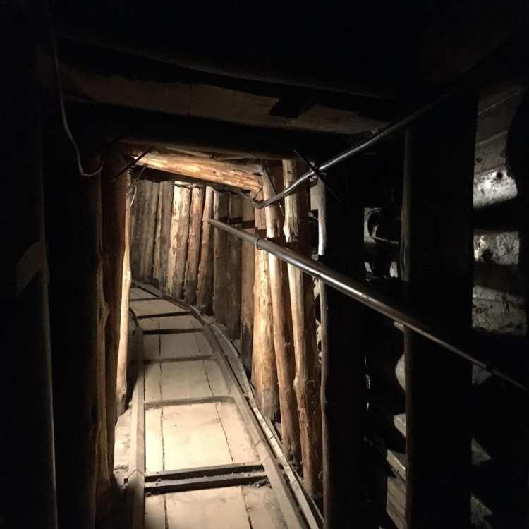 700 mètres de tunnel