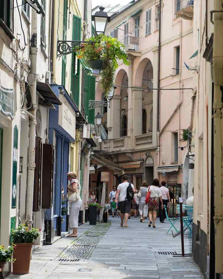 centre historique de San remo