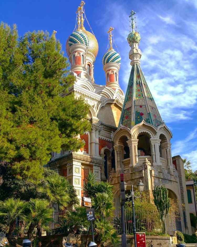 église russe san remo