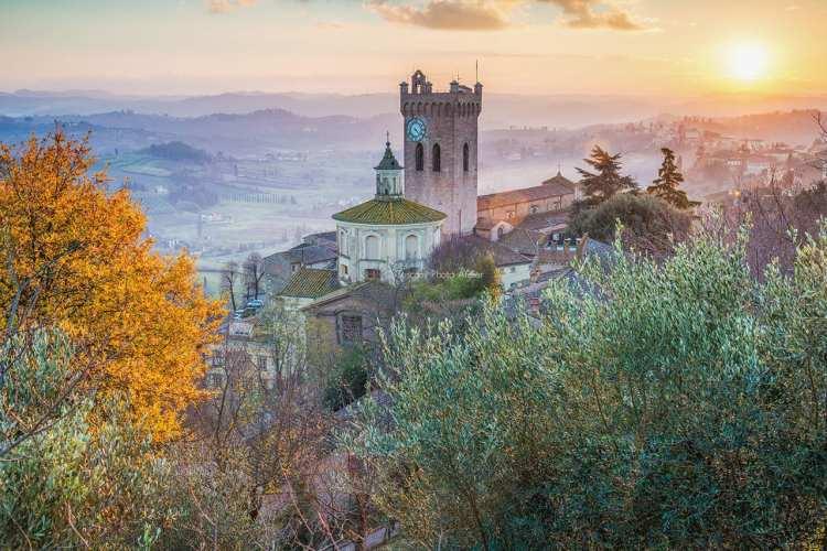 La tour de Matilde à San Miniato