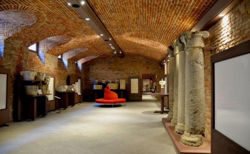 La crypte de Sant'Anastasio et le musée lapidaire d'Asti -