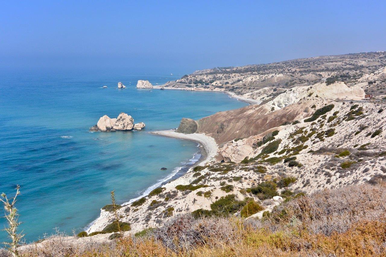 Rocher d'Aphrodite à Pafos, Chypre –