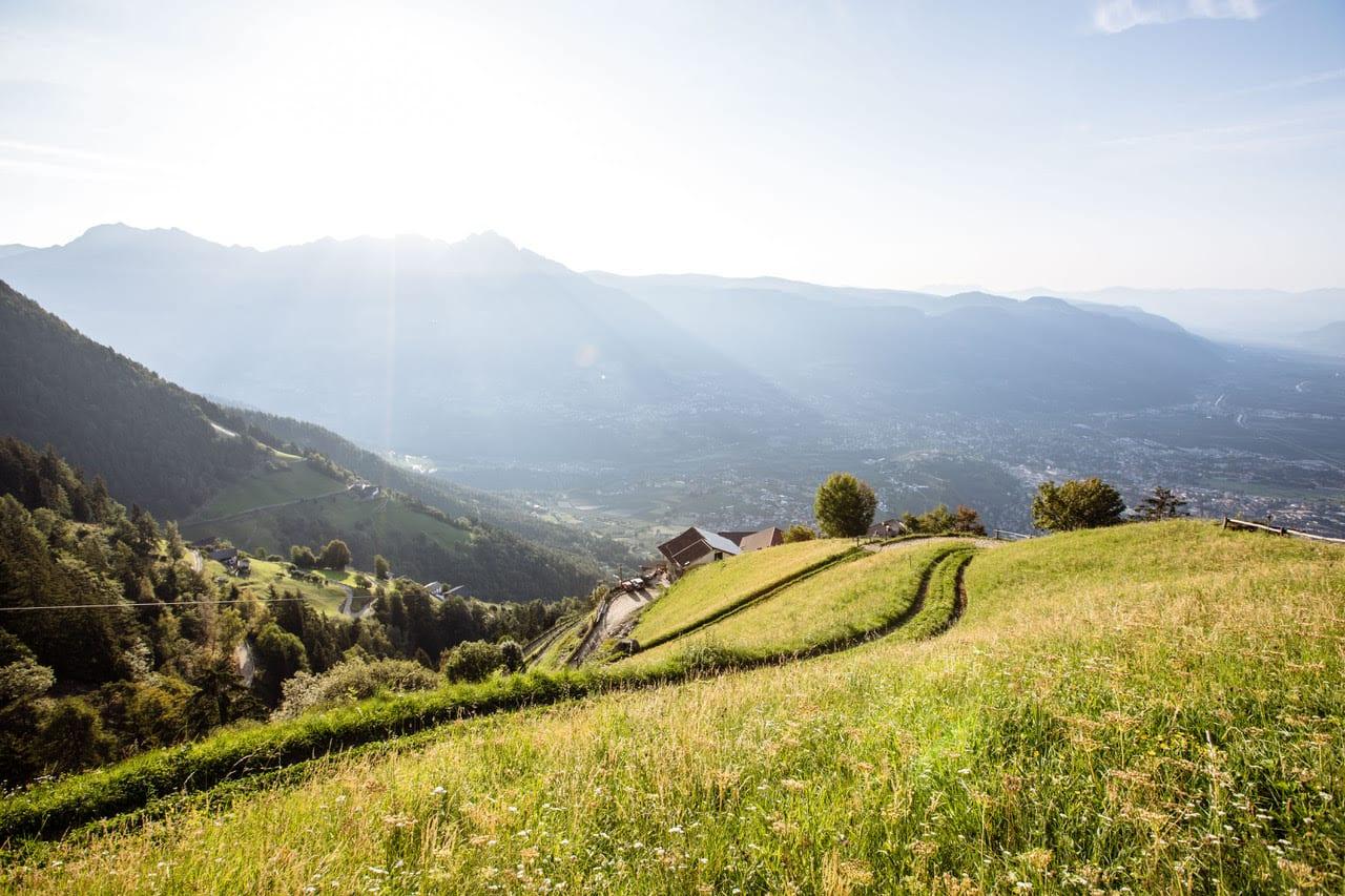 Sentiers et promenades à Merano –