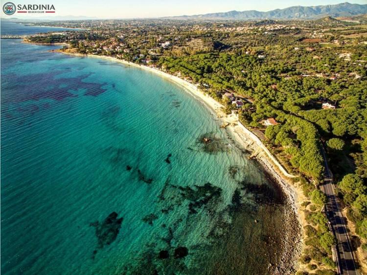 La plage de Capitana en Sardaigne