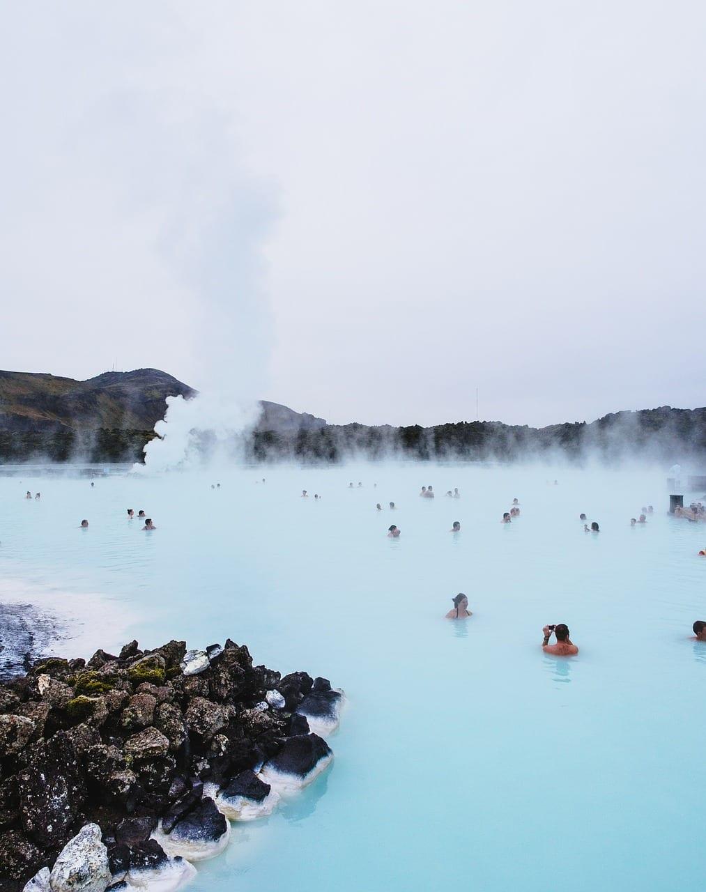 Blue Lagoon en Islande
