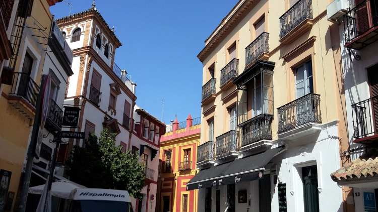 Au centre de Séville