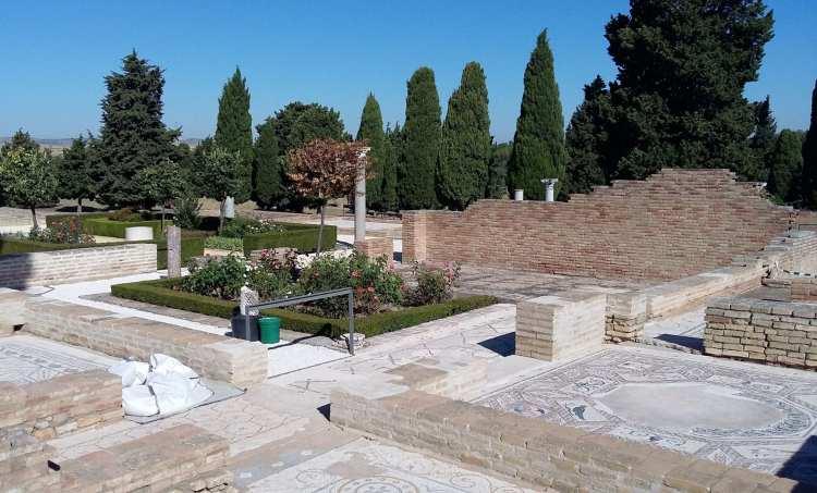 L'arène d'Italica à Séville