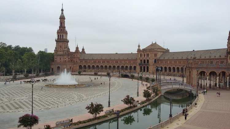 Place d'Espagne à Siviglia