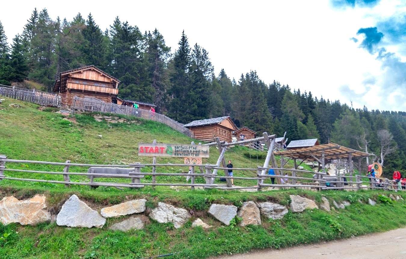 Le parcours sensoriel du parc d'Orpel, DOLOMITI DI SESTO