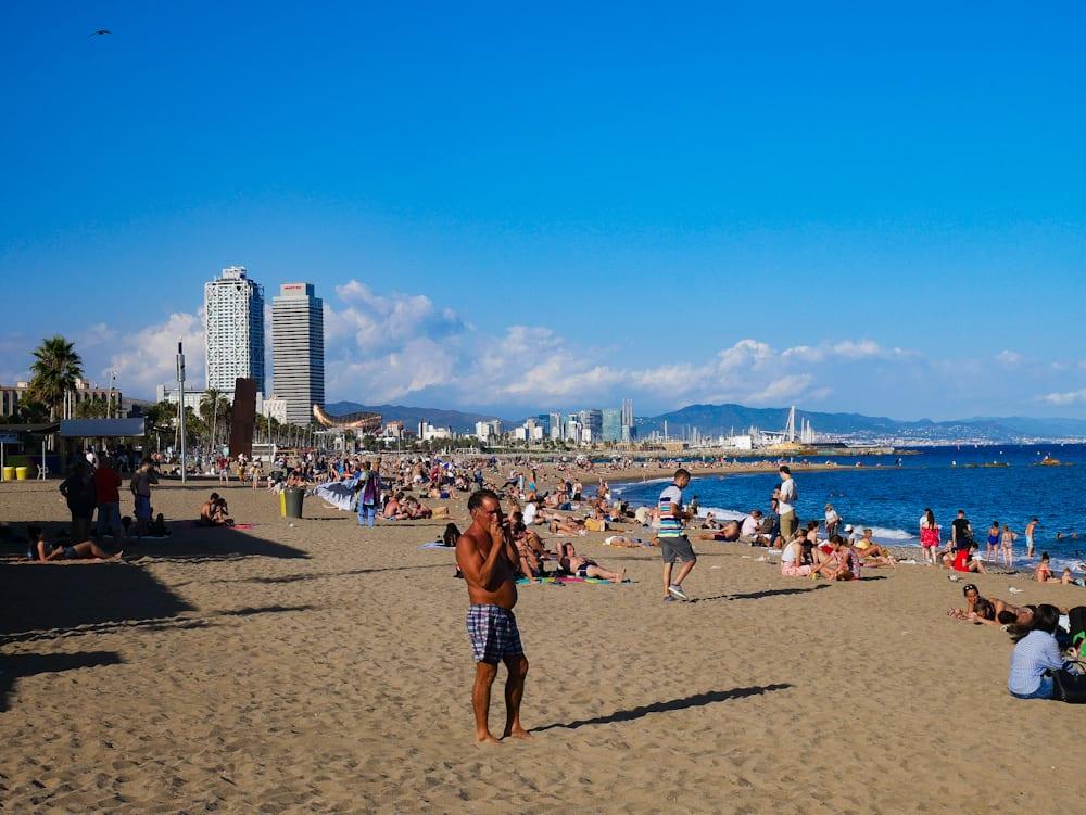 BARCELONETA plage
