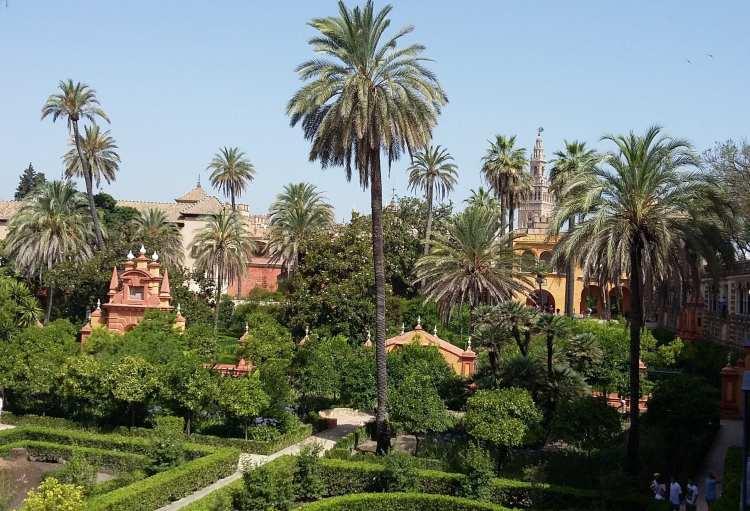l'Alcazar les jardins