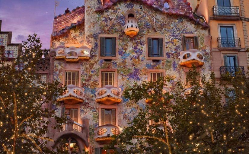 Casa Batlló et les nuits de la lune