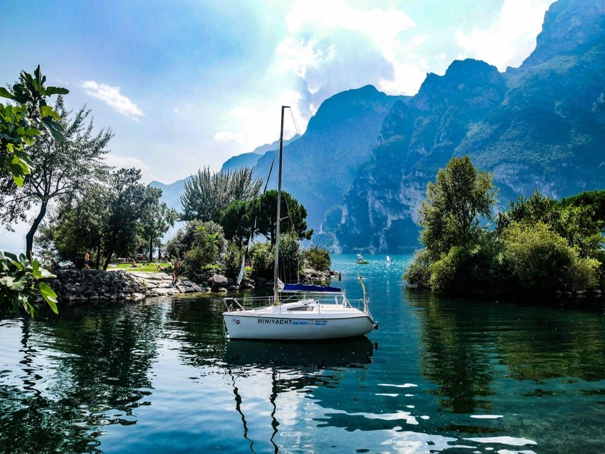 Riva del garda au bord du lac