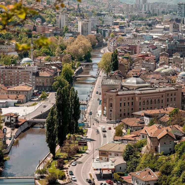Sarajevo en Bosnie