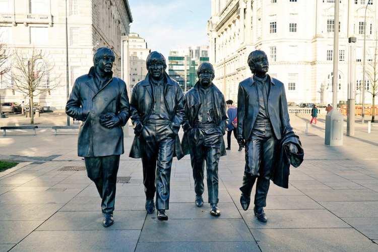 statue des Beatles