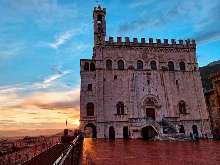 Palazzo dei Consoli à Gubbio