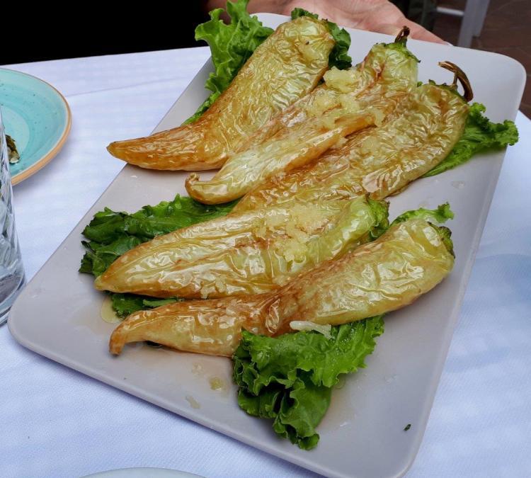 poivrons frits