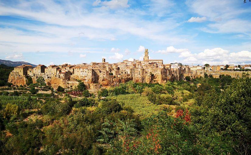 Trekking parmi les villes de tuf, Toscane -