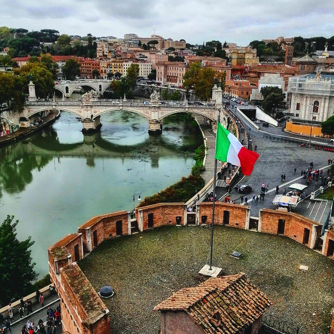 le long du tiber rome