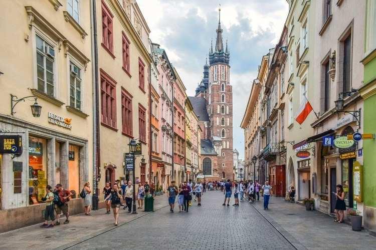 Le quartier Florianska à Cracovie