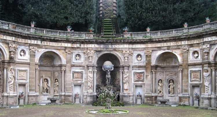VILLA ALDOBRANDINI à Frascati